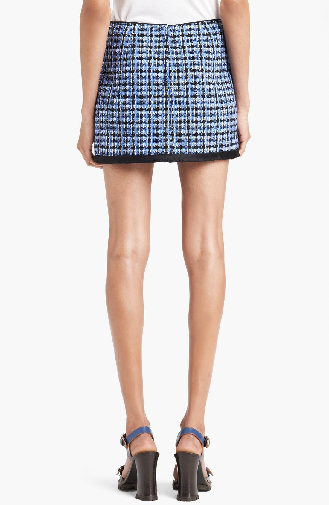 Alternate Image 2  - MARC JACOBS Wool Blend Tweed Miniskirt