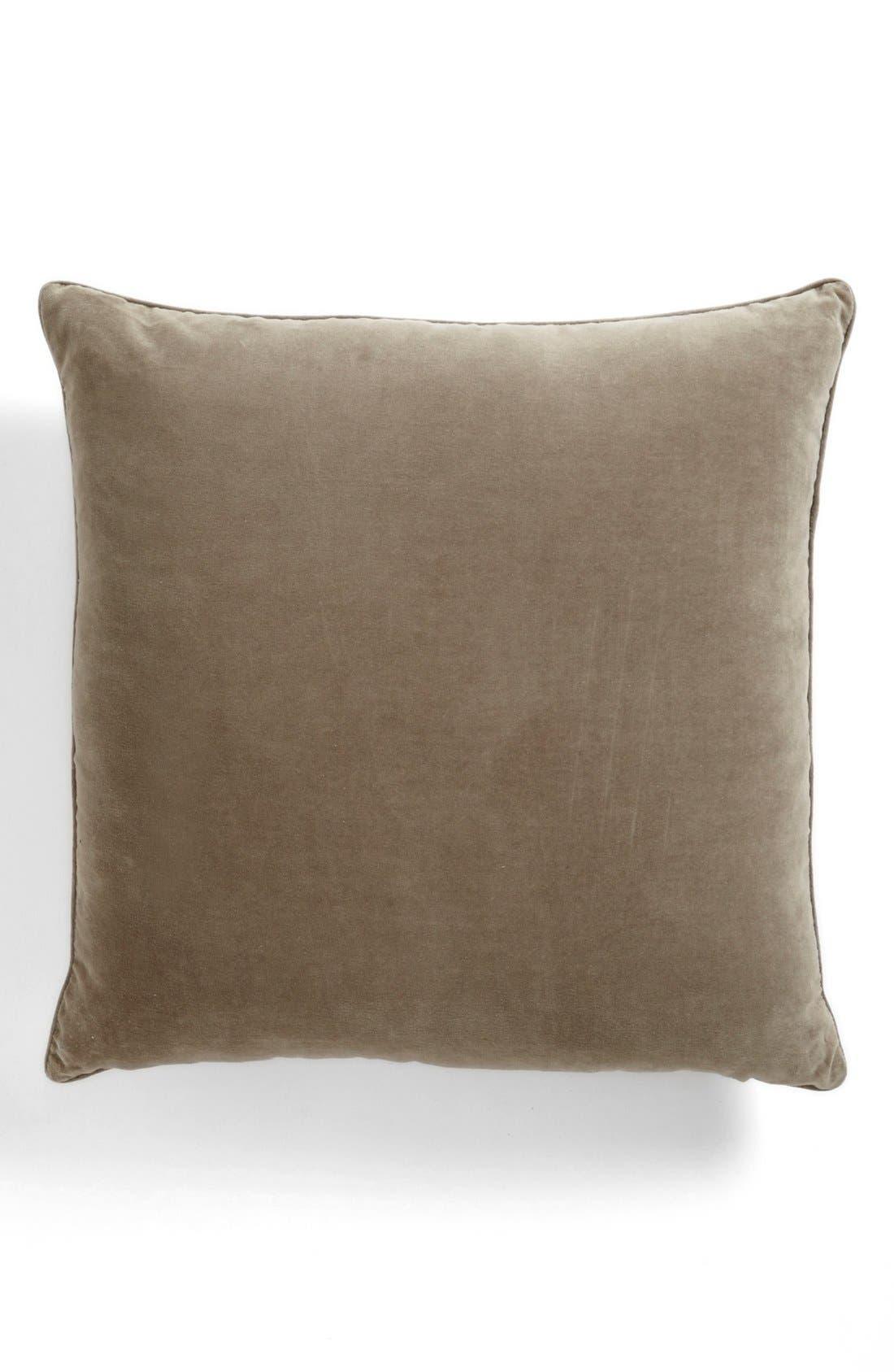 Alternate Image 2  - Dransfield and Ross House 'Alhambra' Velvet Appliqué Pillow