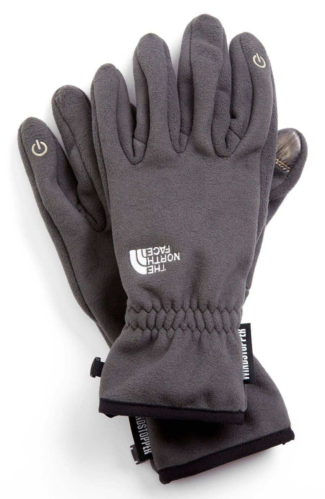 Alternate Image 1 Selected - The North Face 'E-Tip Windstopper™' Gloves (Men)