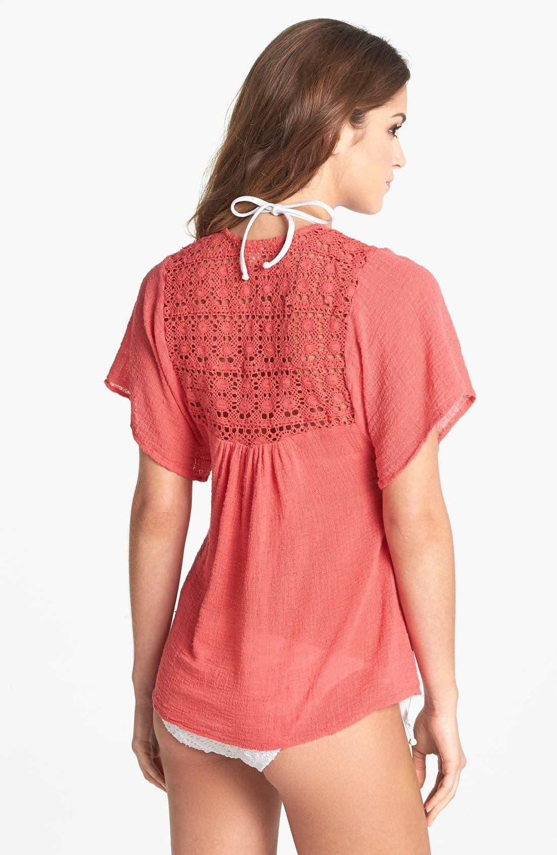 Alternate Image 2  - Surf Gypsy Crochet Top