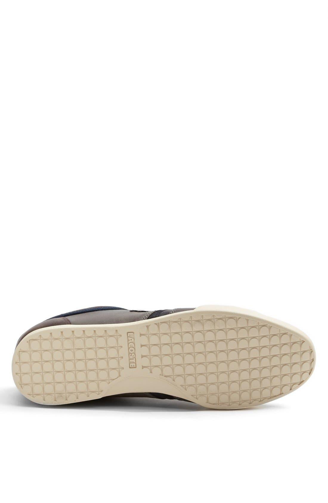 Alternate Image 4  - Lacoste 'Rayford 3' Sneaker (Men)