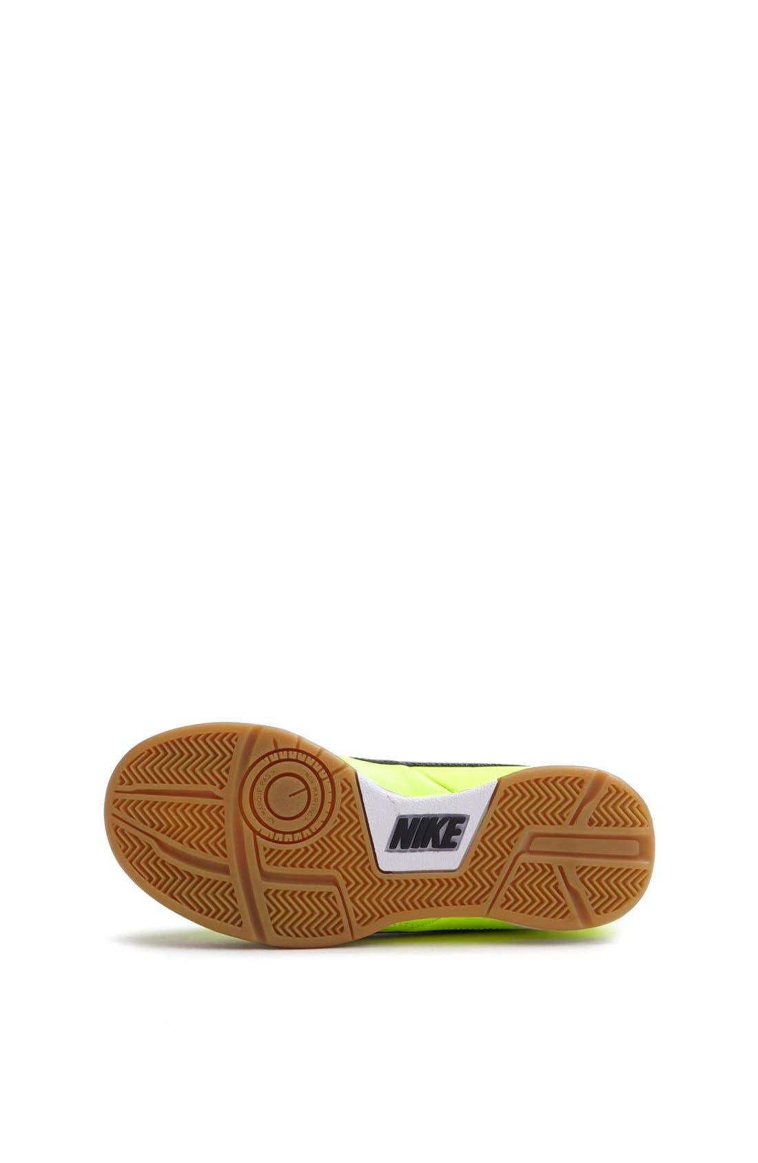 Alternate Image 4  - Nike 'Jr. Tiempo Natural IV' Soccer Shoe (Toddler, Little Kid & Big Kid)