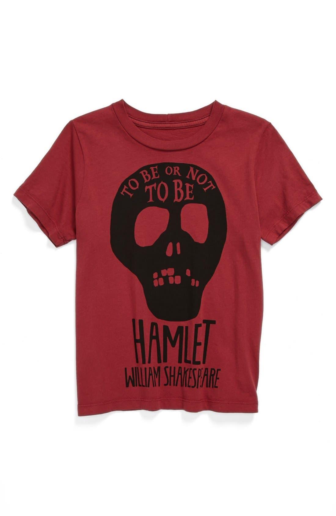 Alternate Image 1 Selected - Peek 'Hamlet' T-Shirt (Toddler Boys, Little Boys & Big Boys)