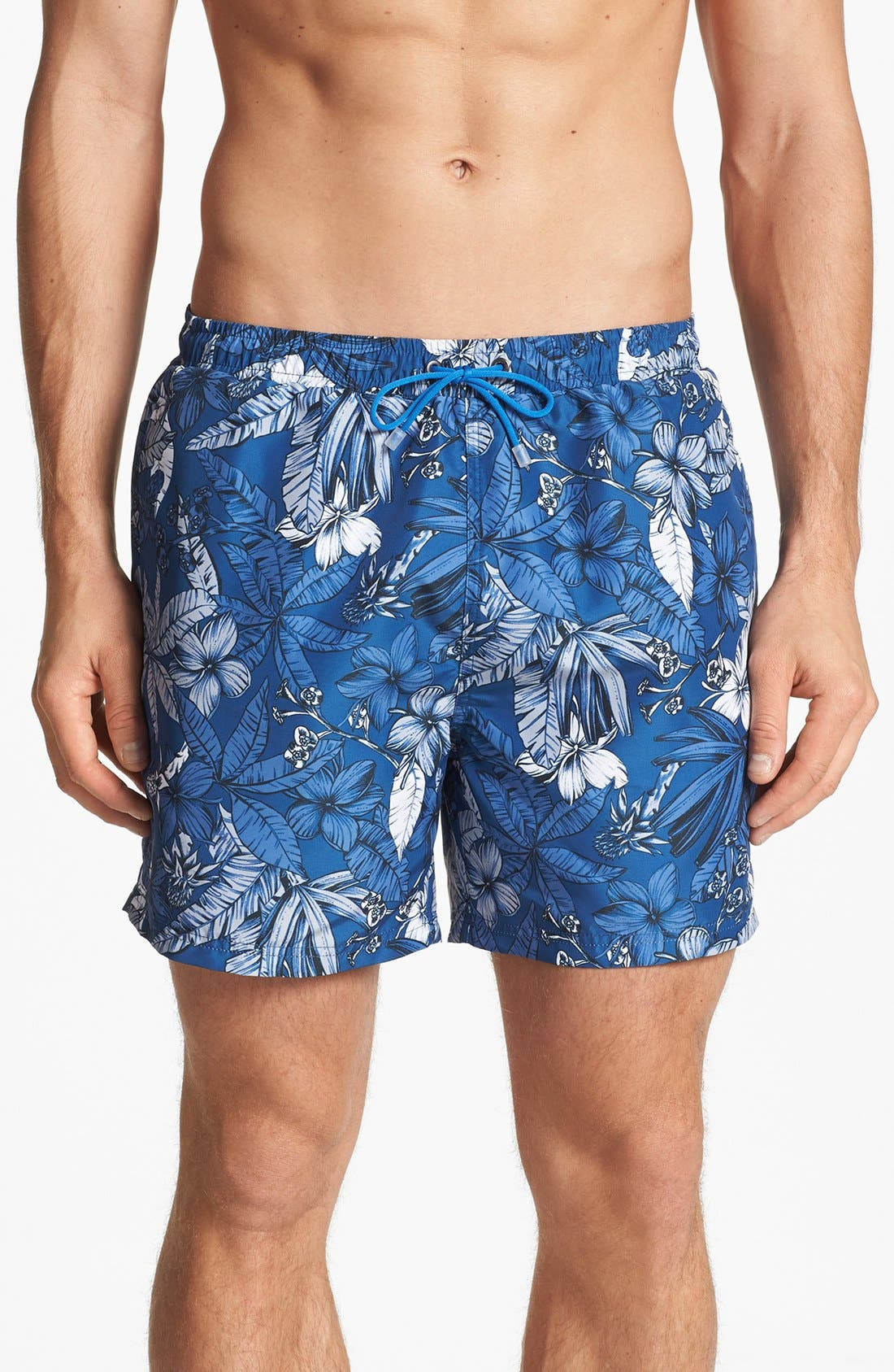 Alternate Image 1 Selected - BOSS HUGO BOSS 'Piranha' Swim Trunks