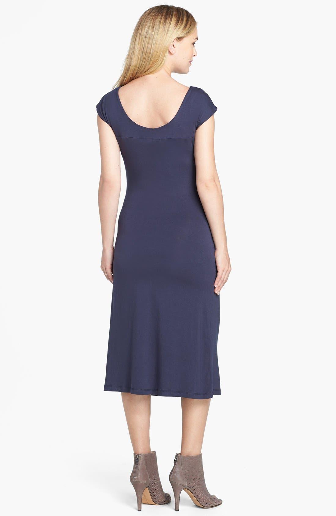 Alternate Image 2  - Nom Maternity 'Sophie' Ruched Maternity Dress