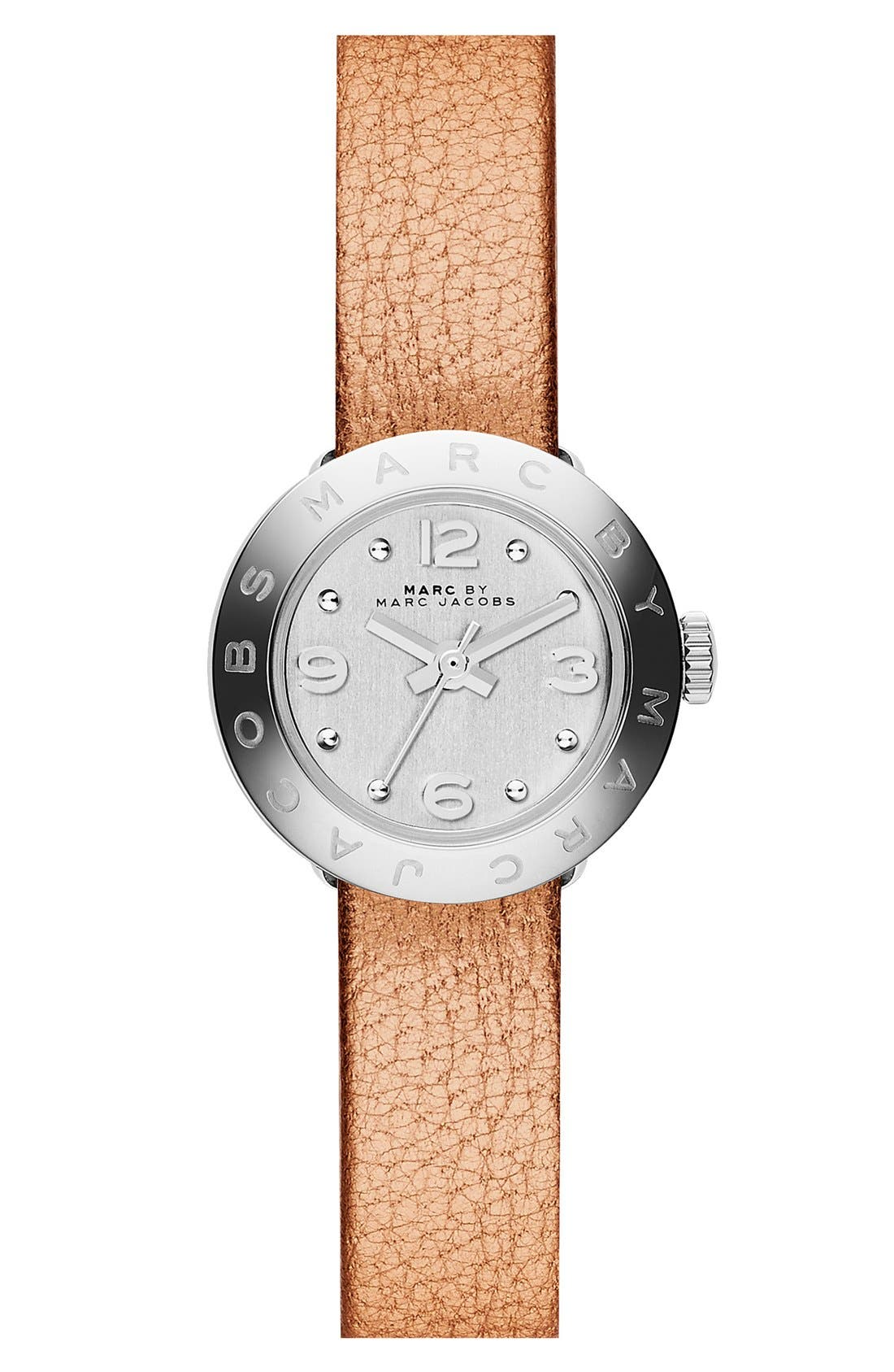 Alternate Image 3  - MARC BY MARC JACOBS 'Amy Dinky' Leather Strap Watch Set, 20mm