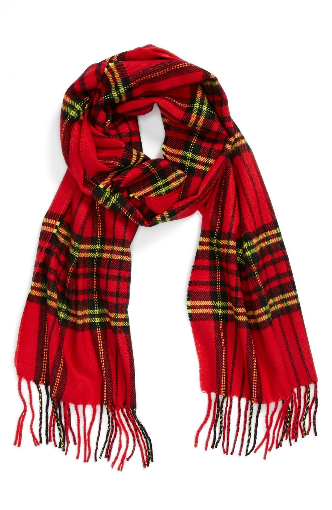 Alternate Image 1 Selected - Topman Tartan Scarf