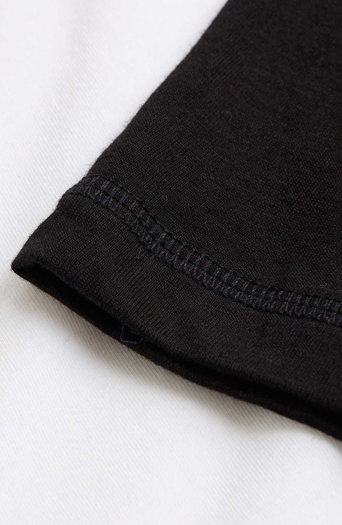 Alternate Image 3  - Topman Long Sleeve Baseball T-Shirt