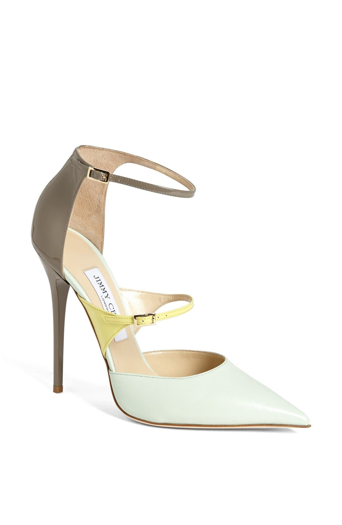 Main Image - Jimmy Choo 'Sunday' Ankle Strap Pump