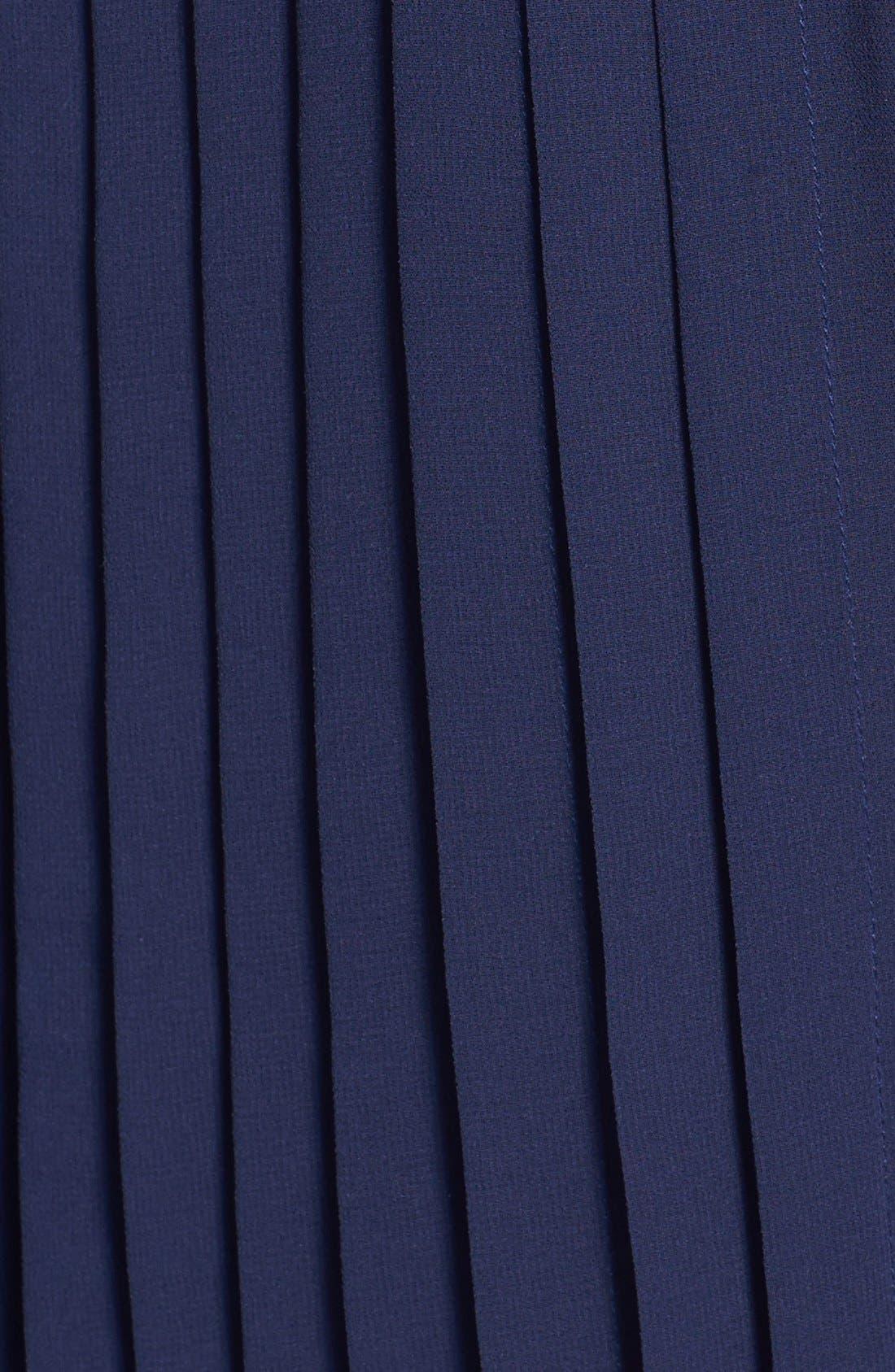 Alternate Image 3  - Sanctuary Pintuck Pleat Mini Shirtdress