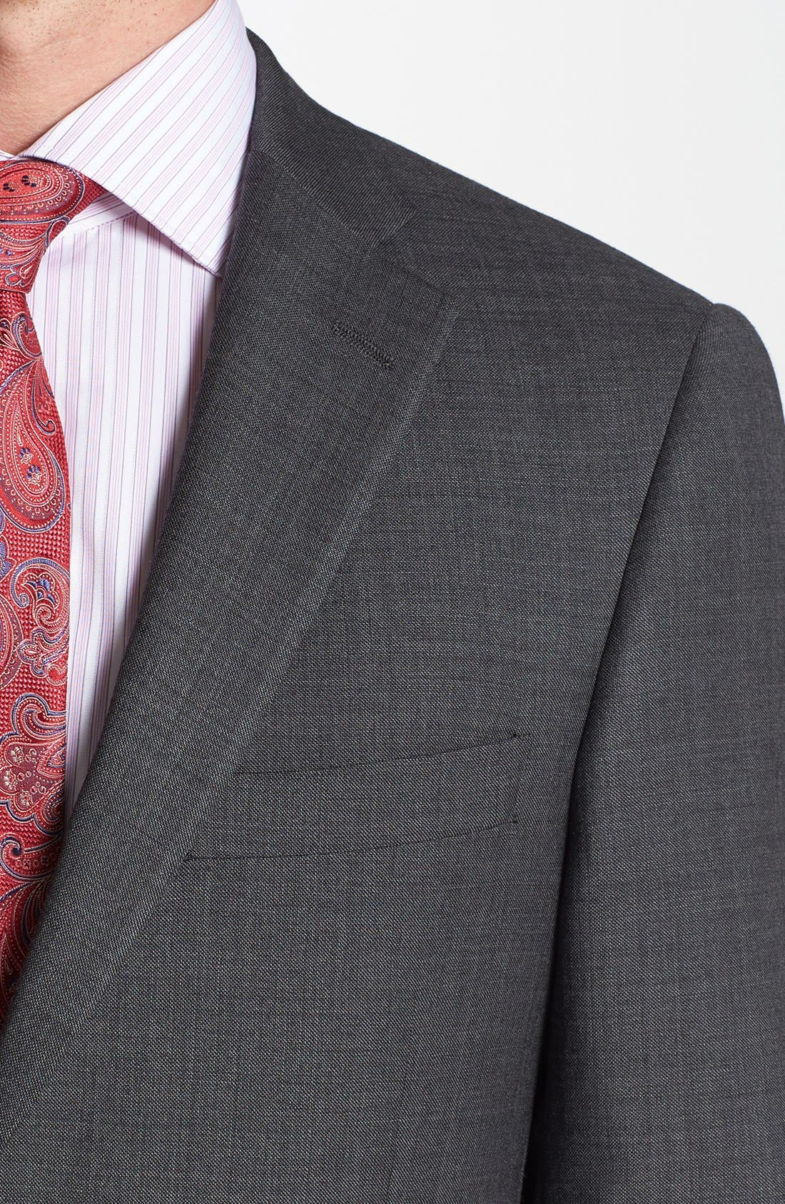 Alternate Image 2  - Hart Schaffner Marx 'New York' Classic Fit Wool Suit