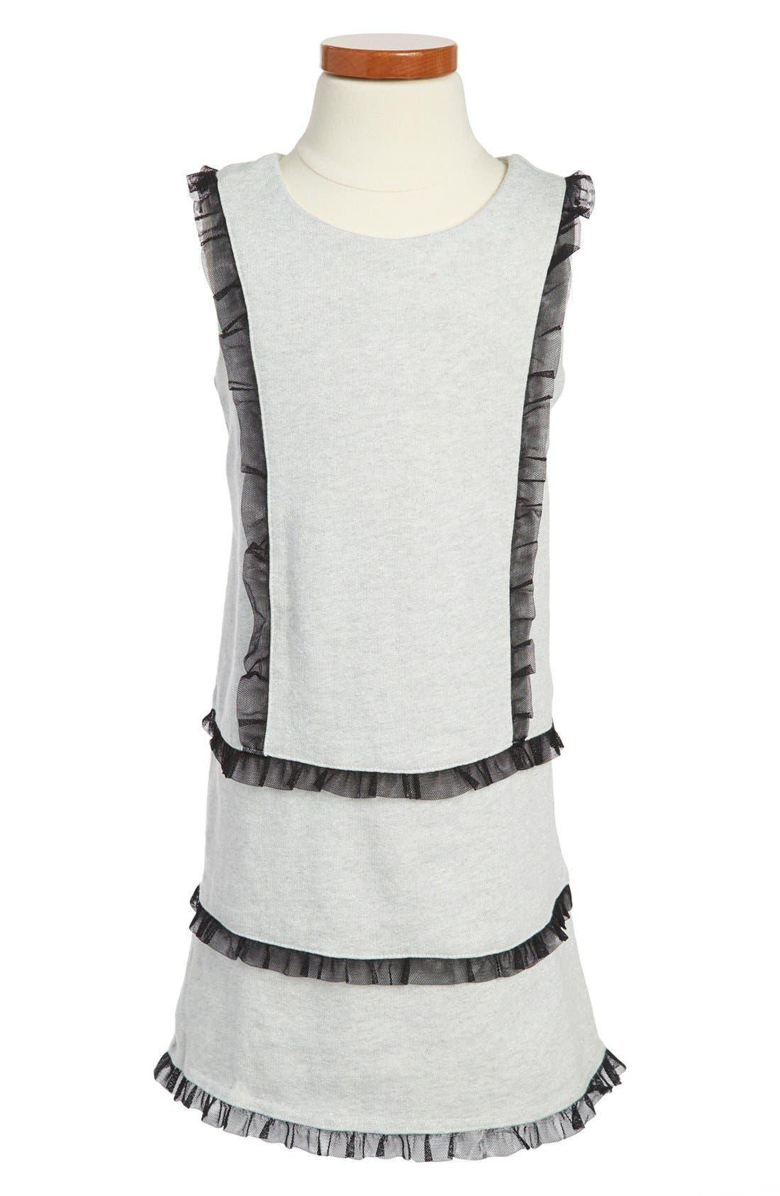 Main Image - Tea Collection Sparkle Shift Dress (Little Girls & Big Girls)