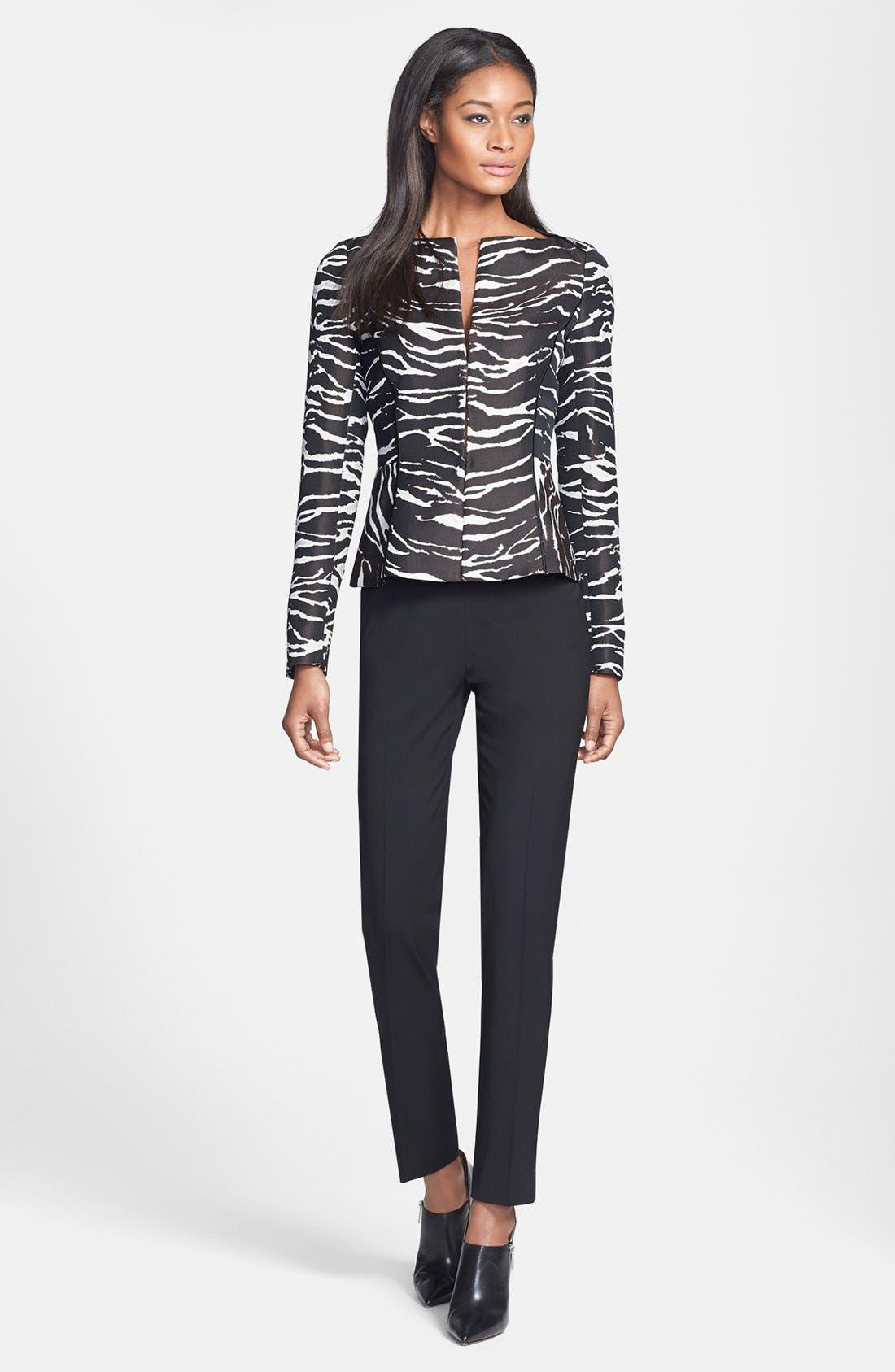 Alternate Image 4  - Lafayette 148 New York 'Graphic Zebra' Jacket