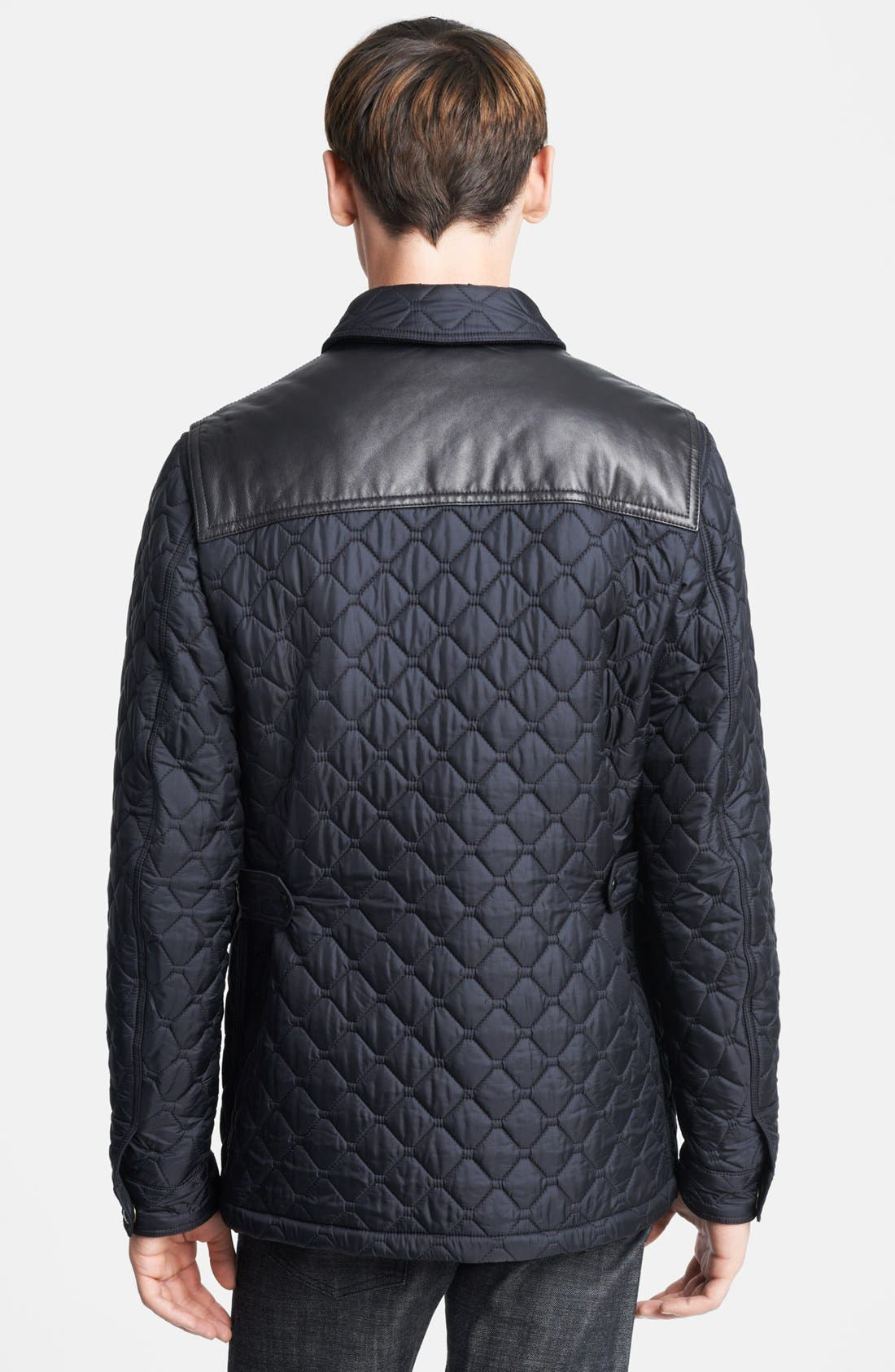 Alternate Image 2  - Burberry London 'Highgrove' Quilted Jacket