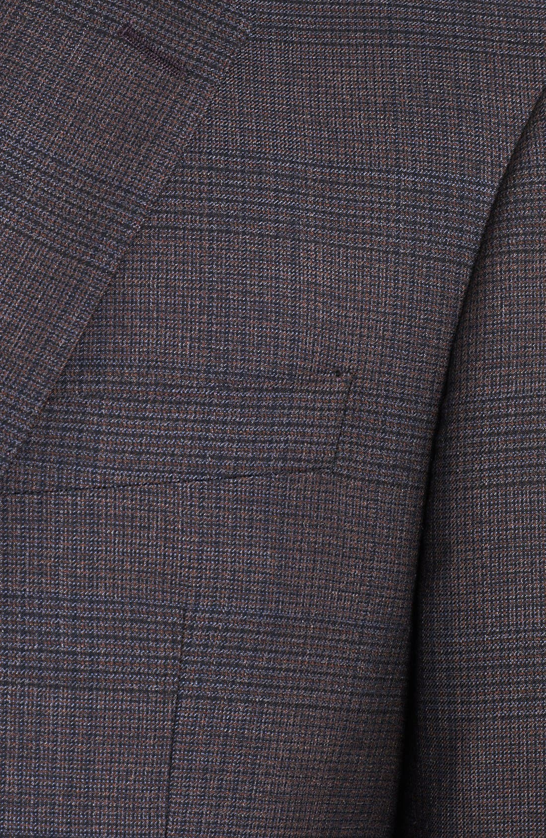 Alternate Image 2  - Burberry London Plaid Wool Sportcoat