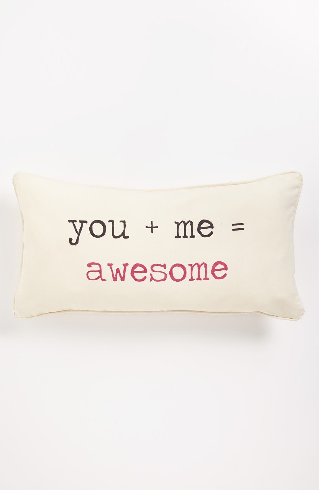 Alternate Image 1 Selected - Levtex 'You + Me = Awesome' Pillow