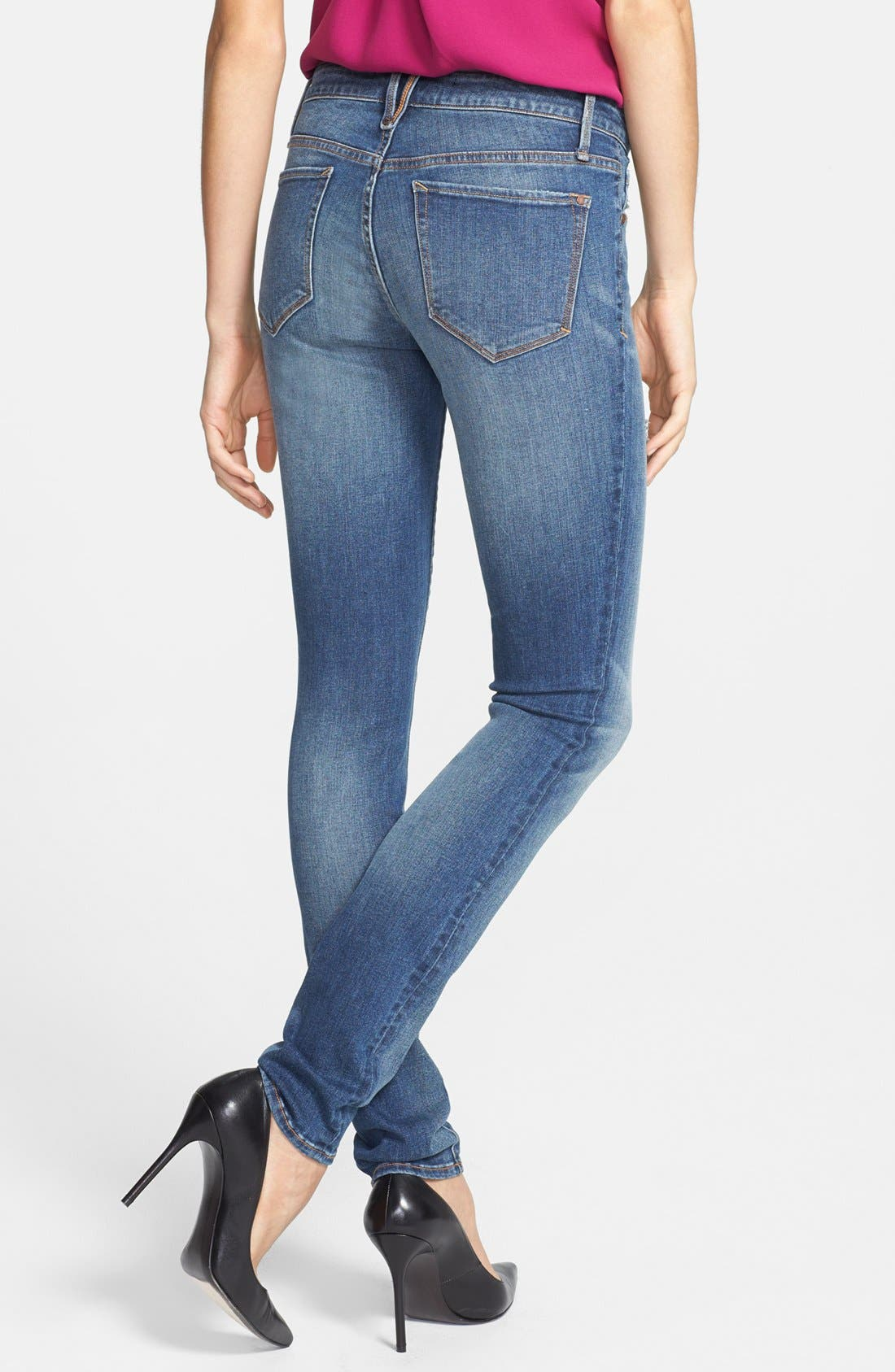Alternate Image 2  - MARC BY MARC JACOBS 'Gaia' Stretch Super Skinny Jeans