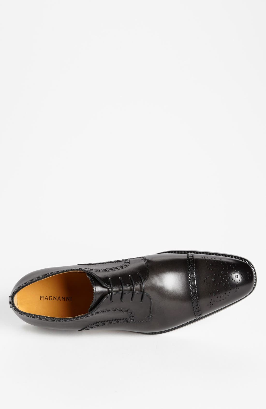 Alternate Image 3  - Magnanni 'Alba' Cap Toe Derby (Men) (Online Only)