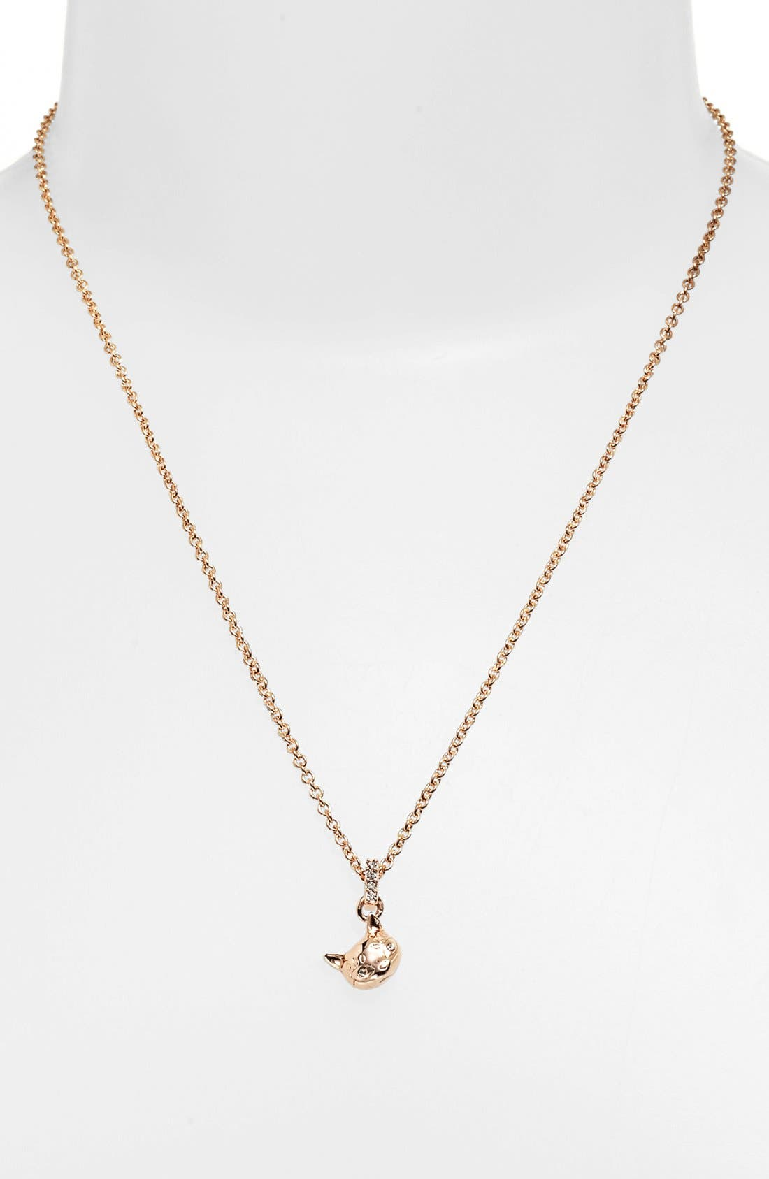 Alternate Image 1 Selected - MARC BY MARC JACOBS 'Dynamite - Rue' Cat Pendant Necklace