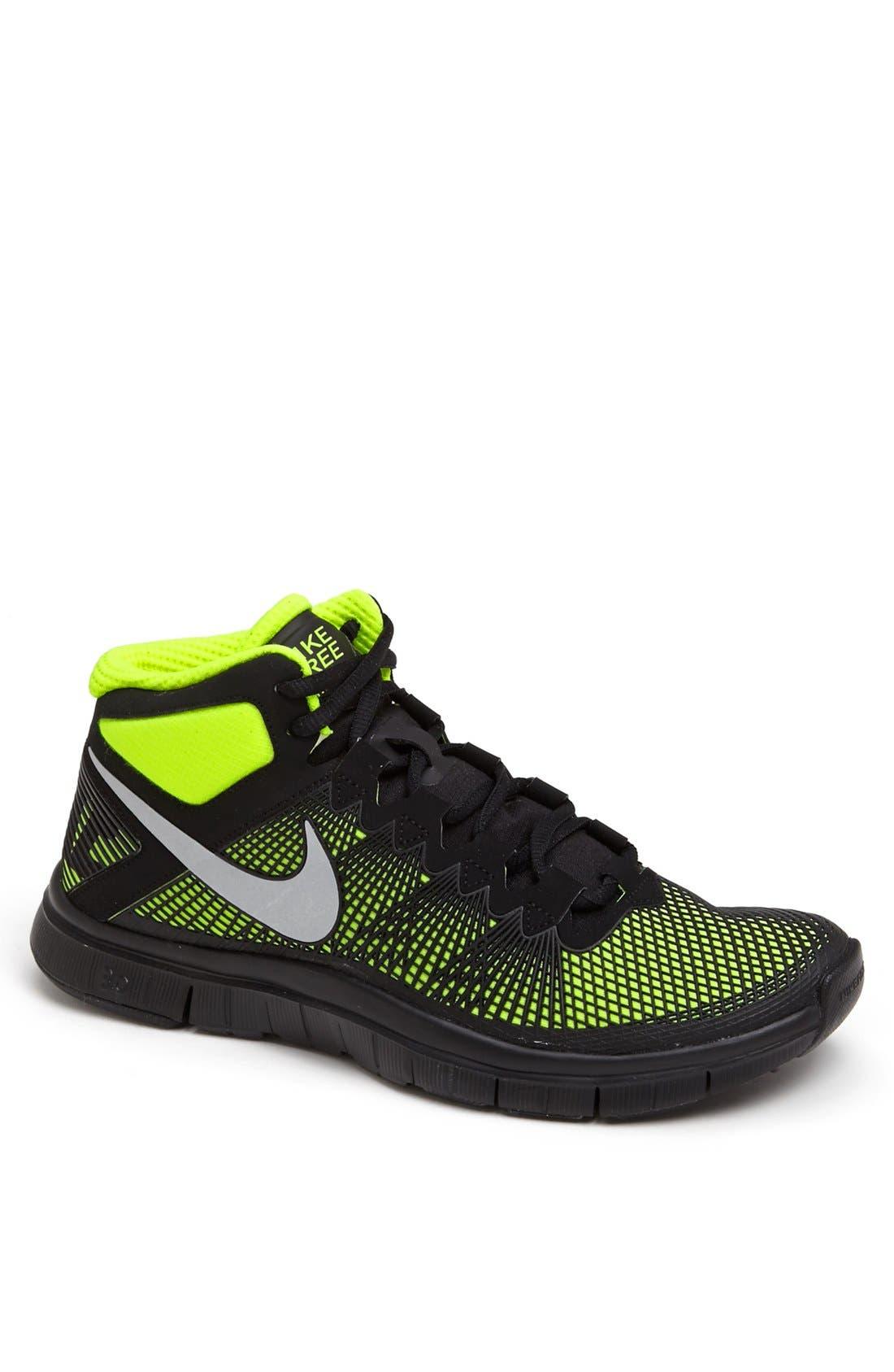 Alternate Image 1 Selected - Nike 'Free Trainer 3.0 Mid' Training Shoe (Men)