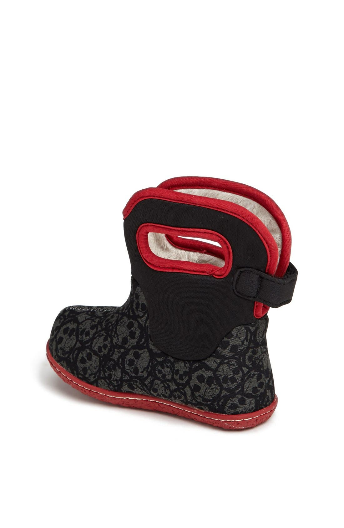 Alternate Image 2  - Bogs 'Baby Bogs - Skulls' Waterproof Boot (Baby, Walker & Toddler)