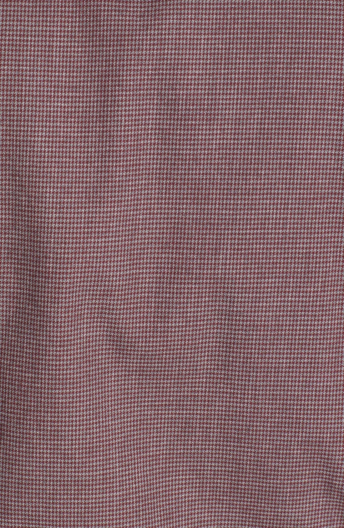 Alternate Image 3  - BOSS HUGO BOSS 'Ronny' Mélange Houndstooth Sport Shirt