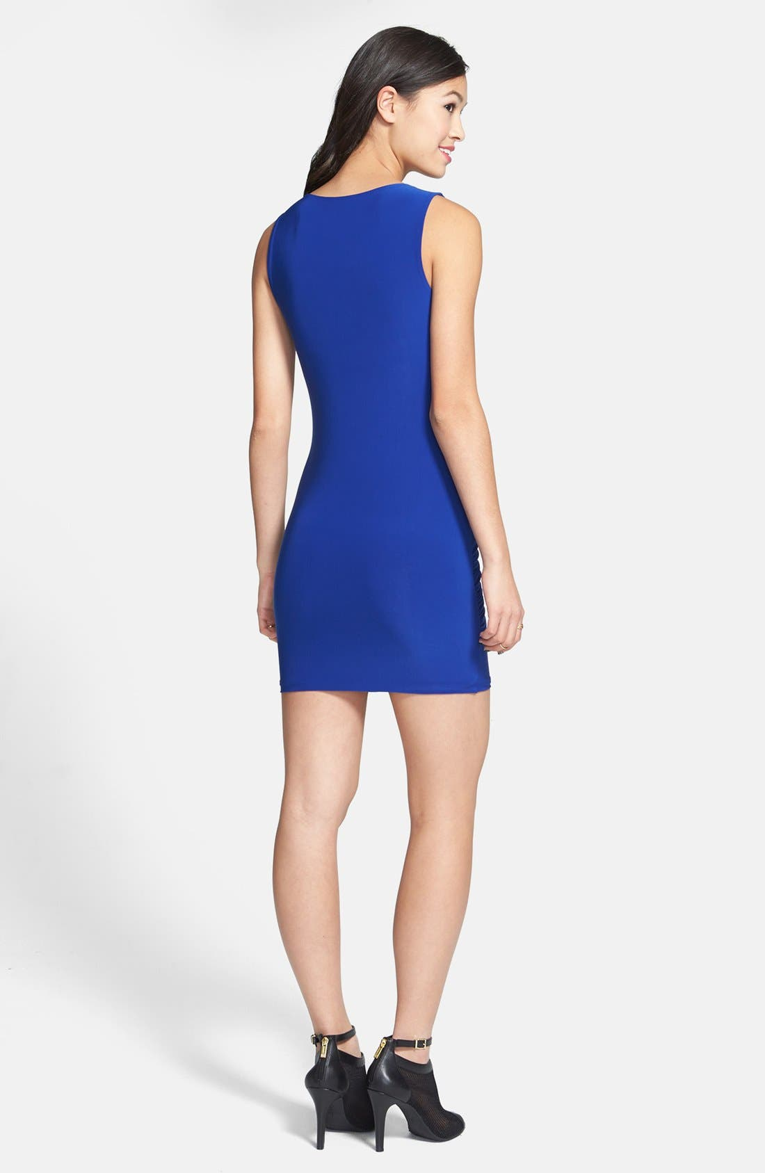 Alternate Image 2  - Soprano Ruched Body-Con Dress (Juniors)