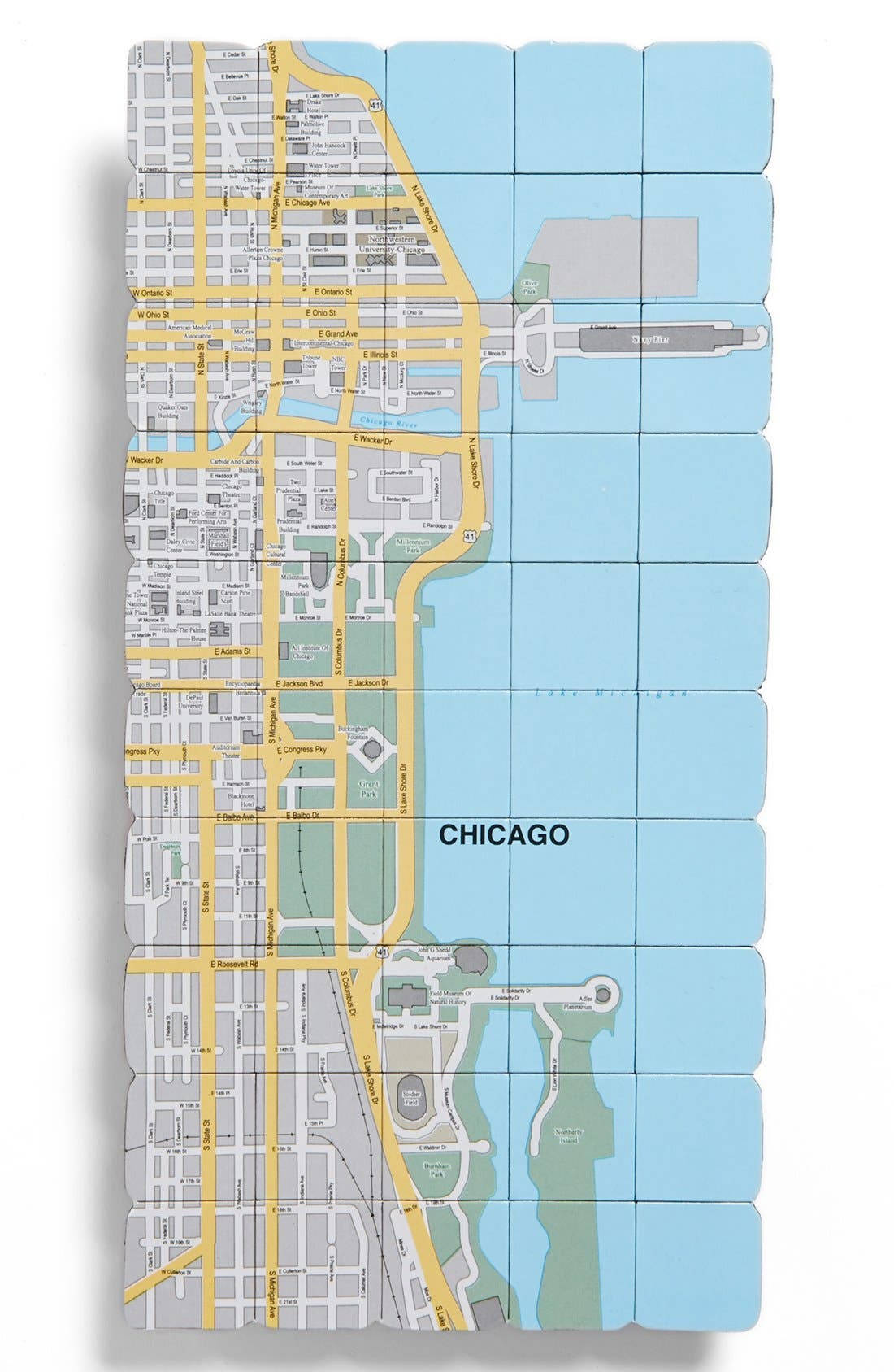 Alternate Image 1 Selected - Design Ideas Map Magnet
