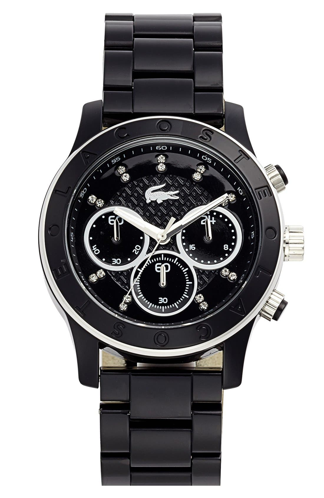 Alternate Image 1 Selected - Lacoste Chronograph Bracelet Watch, 40mm