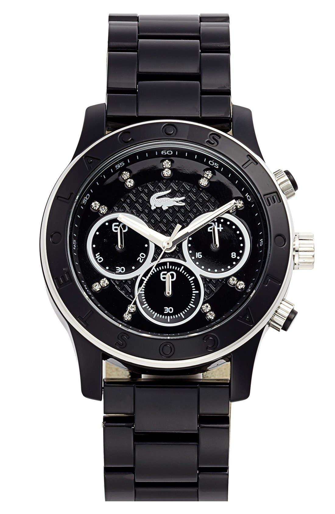 Main Image - Lacoste Chronograph Bracelet Watch, 40mm