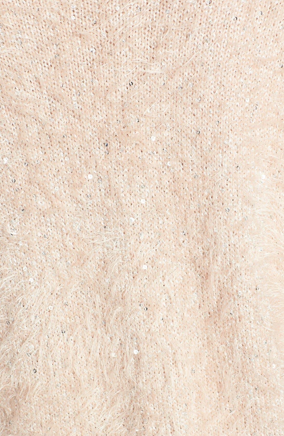 Alternate Image 3  - Trouvé Textured V-Neck Sweater