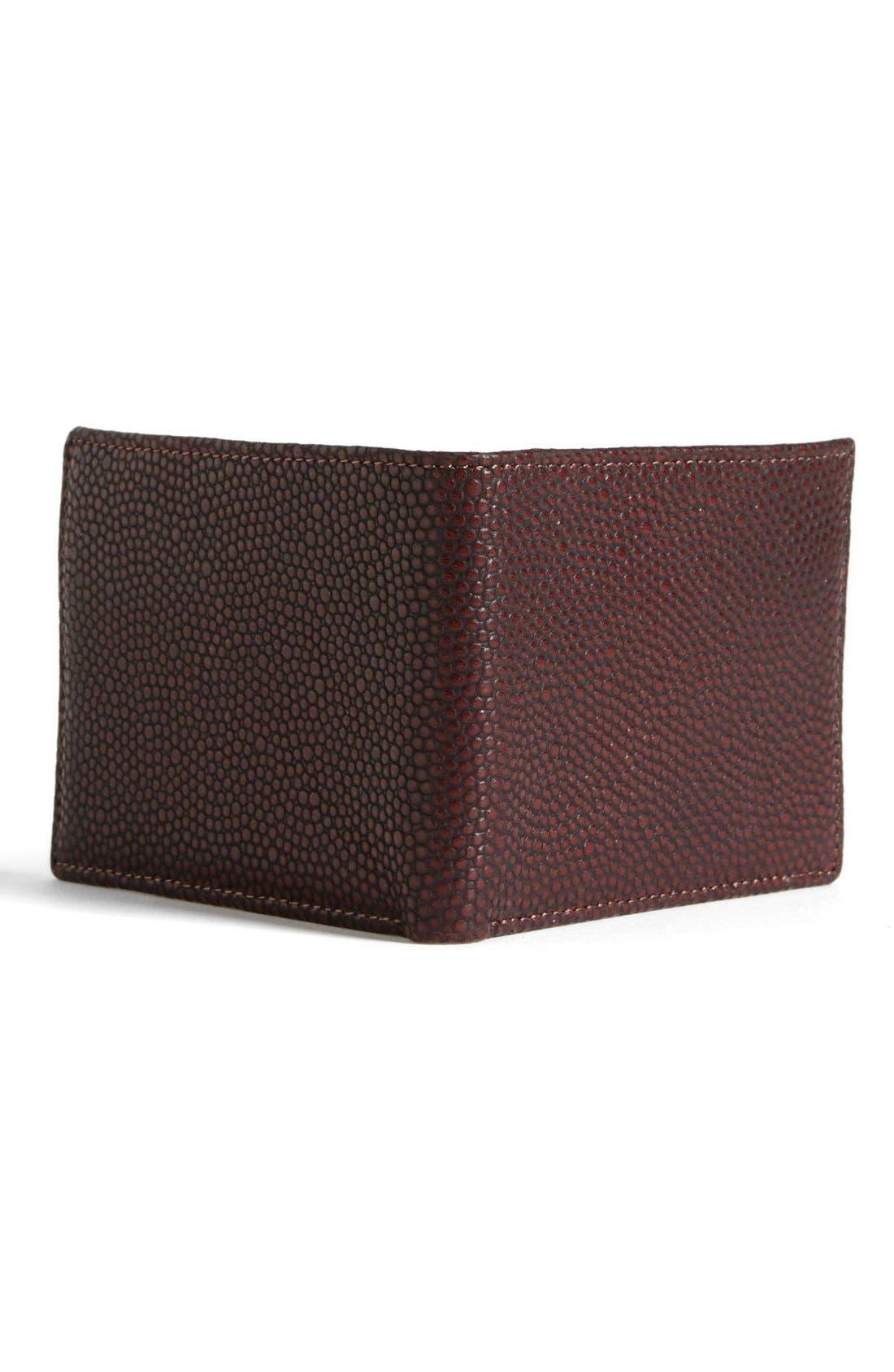 Alternate Image 3  - John Varvatos Collection Pebbled Leather Wallet