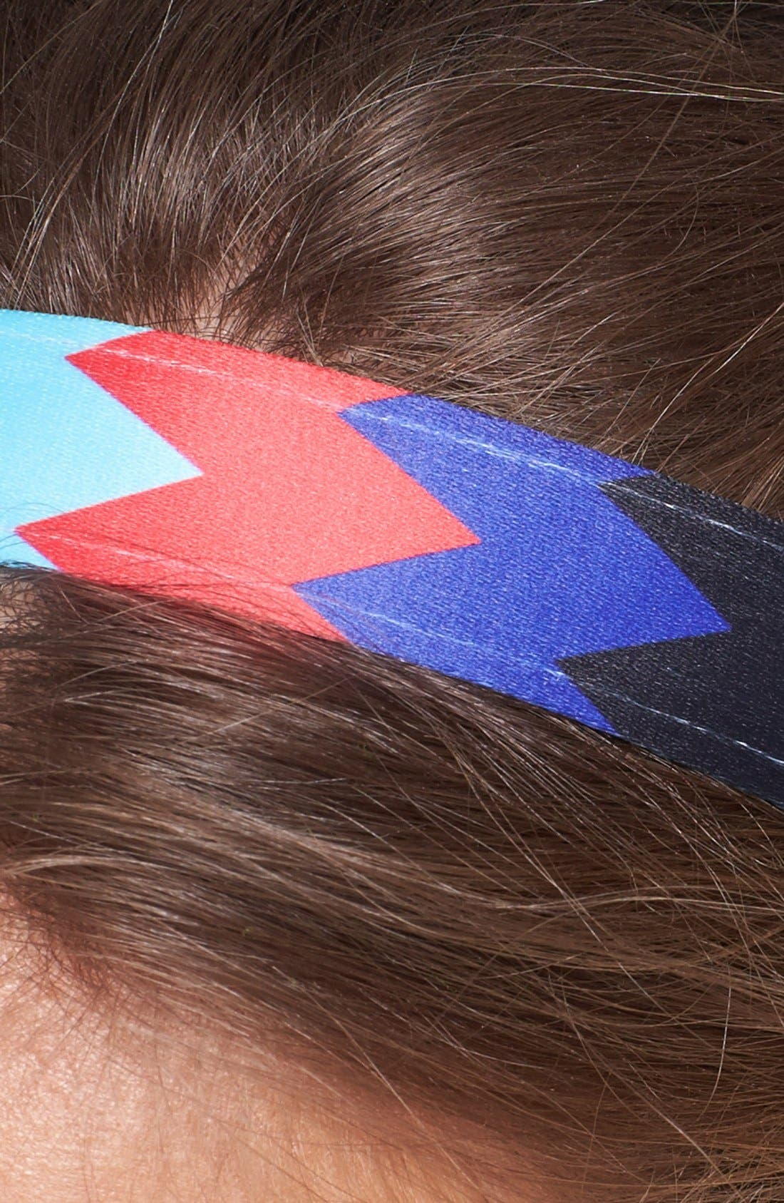 Alternate Image 2  - Sweaty Bands 'Chevron Shuffle' Head Wrap