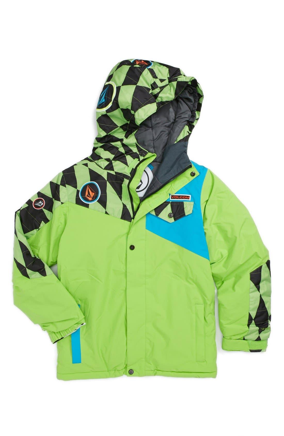 Alternate Image 1 Selected - Volcom 'Skiffle' Insulated Jacket (Little Boys & Big Boys)