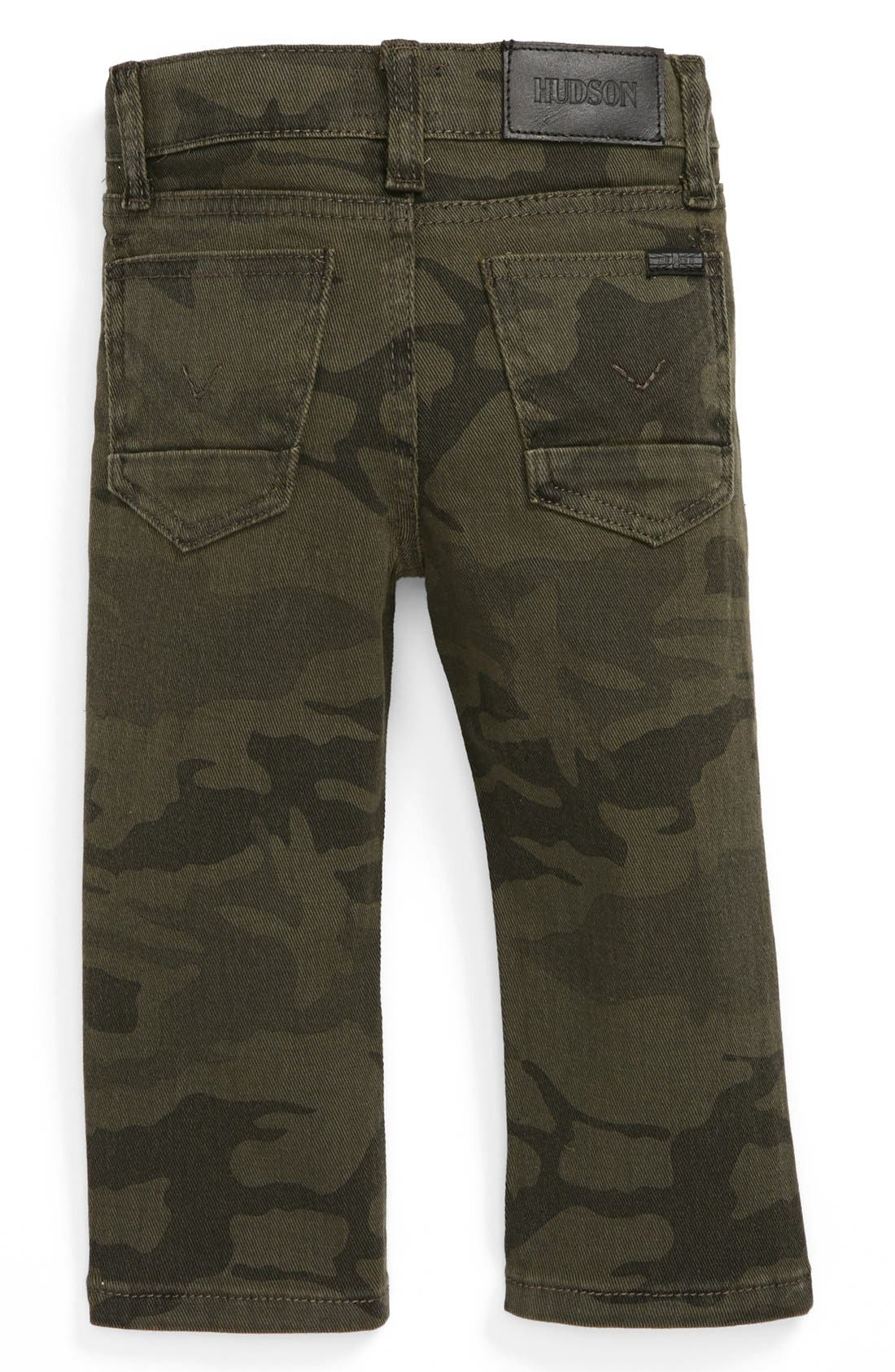 Alternate Image 1 Selected - Hudson Kids Traditional Camo Jeans (Baby Boys)