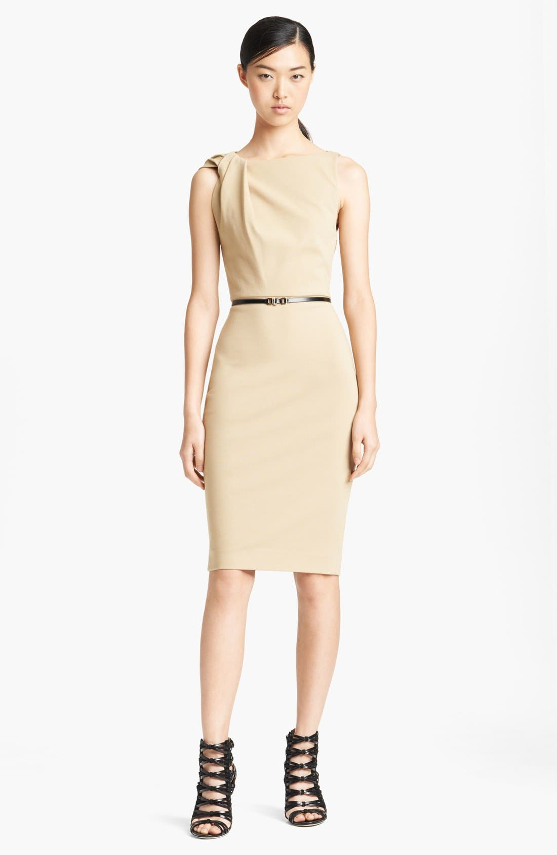 Alternate Image 1 Selected - Jason Wu Ponte Jersey Sheath Dress