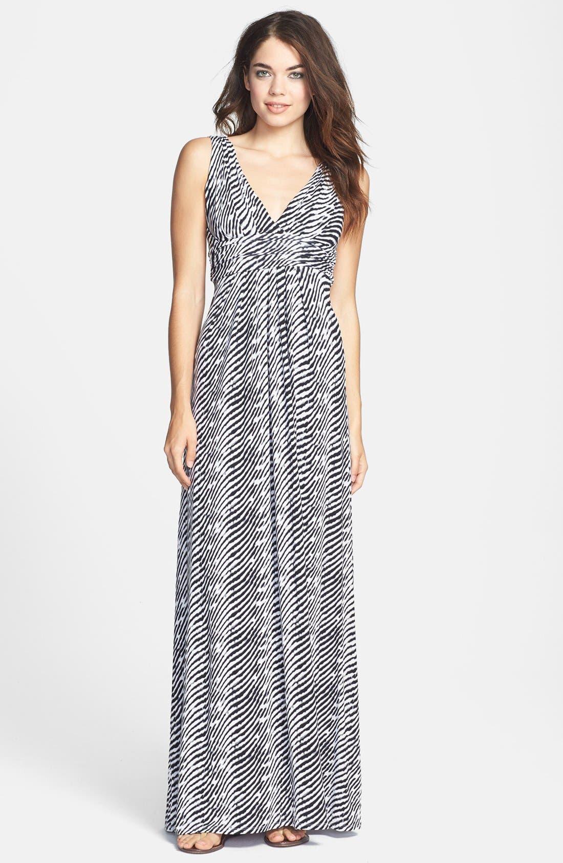 Alternate Image 1 Selected - Tart 'Adrianna' Print Jersey Maxi Dress