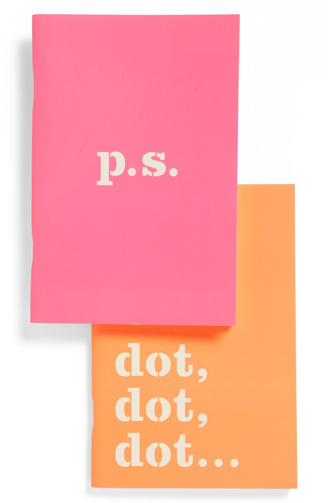 Alternate Image 1 Selected - kate spade new york notebooks (set of 2)
