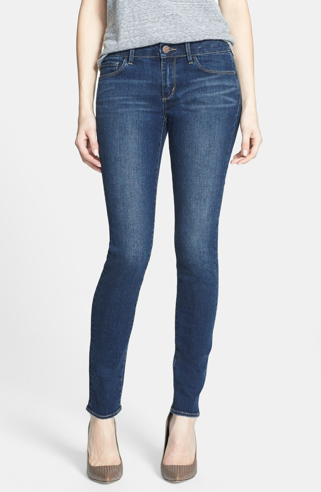Alternate Image 1 Selected - Treasure&Bond Skinny Jeans (Medium)