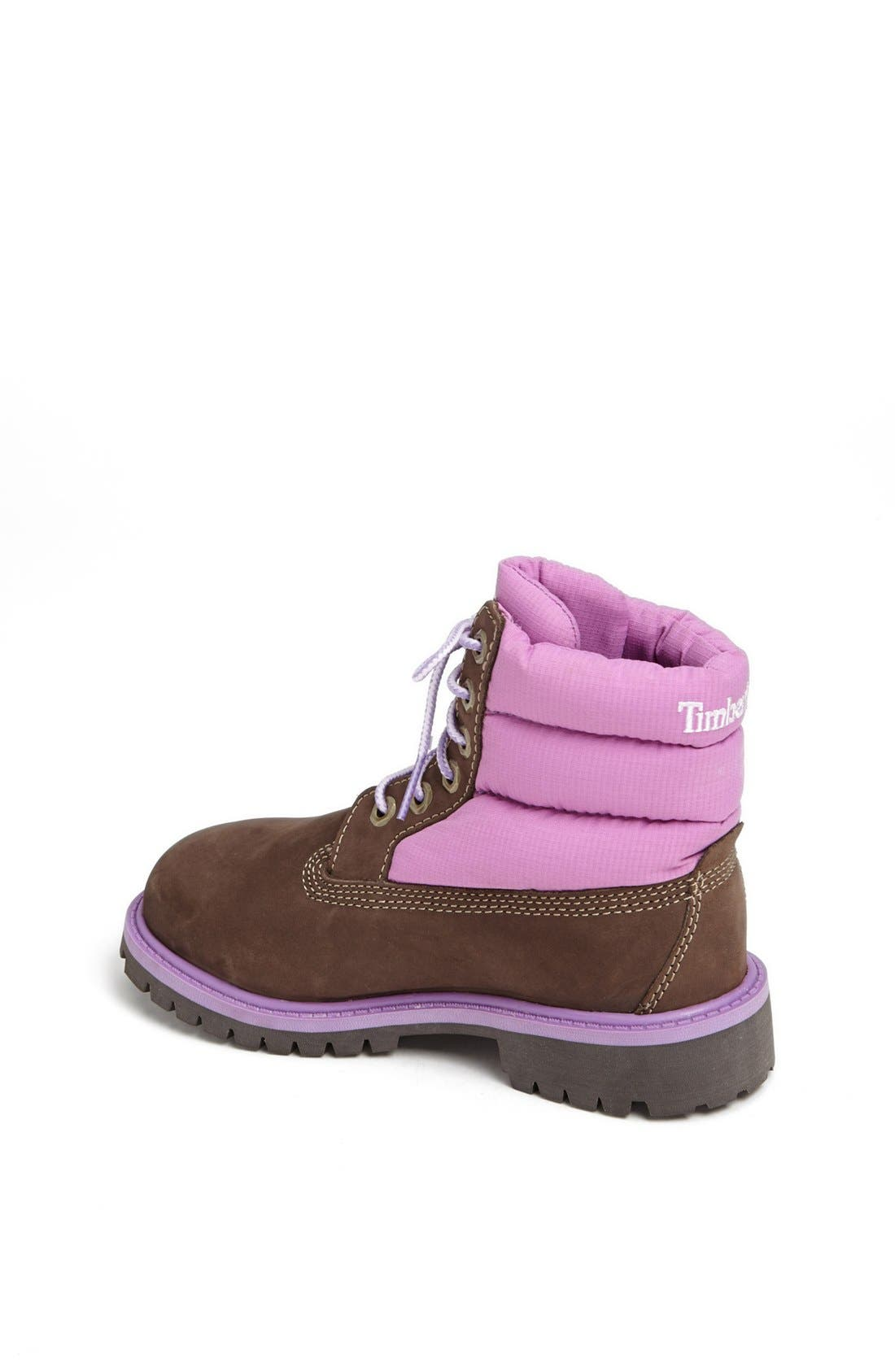Alternate Image 2  - Timberland Quilted Boot (Toddler, Little Kid & Big Kid)