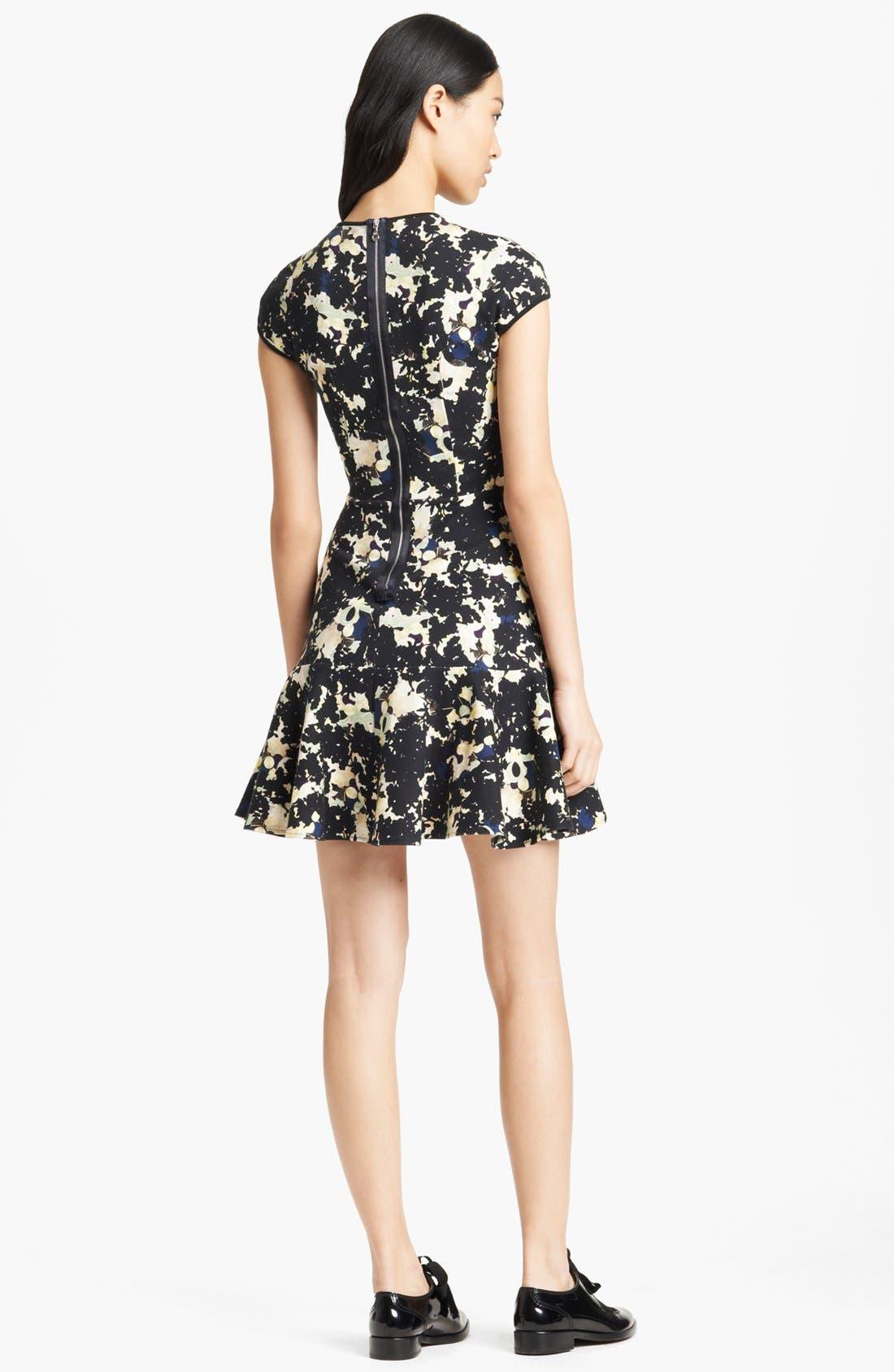 Alternate Image 2  - Erdem Print Ponte Jersey Dress