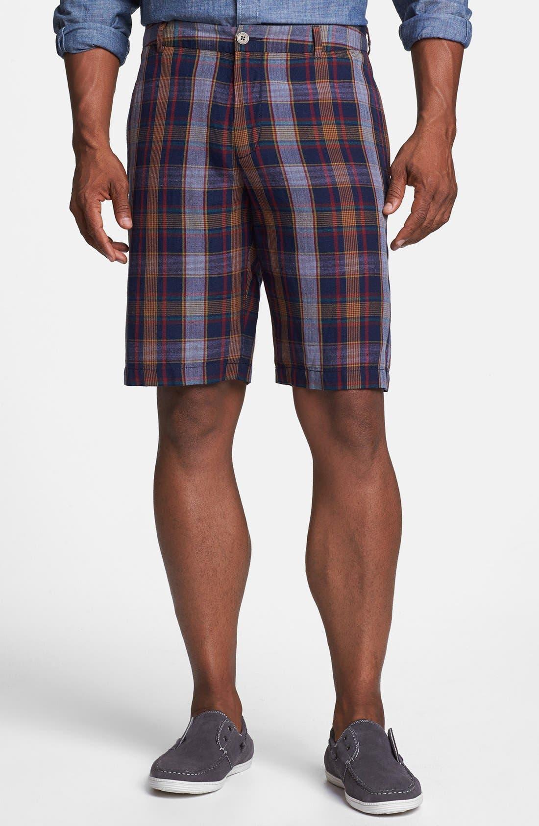 Main Image - Tommy Bahama 'Las Palmas' Plaid Shorts