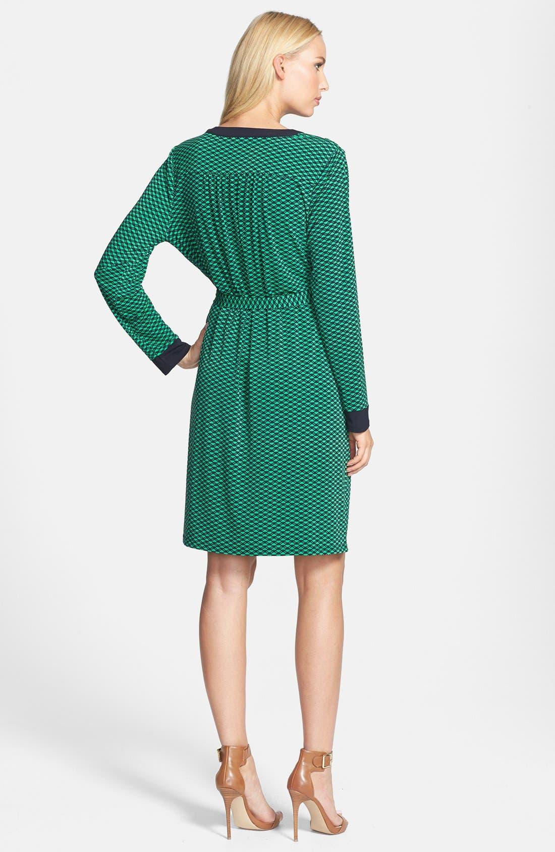 Alternate Image 2  - MICHAEL Michael Kors Lace Up Belted Knit Dress (Regular & Petite)