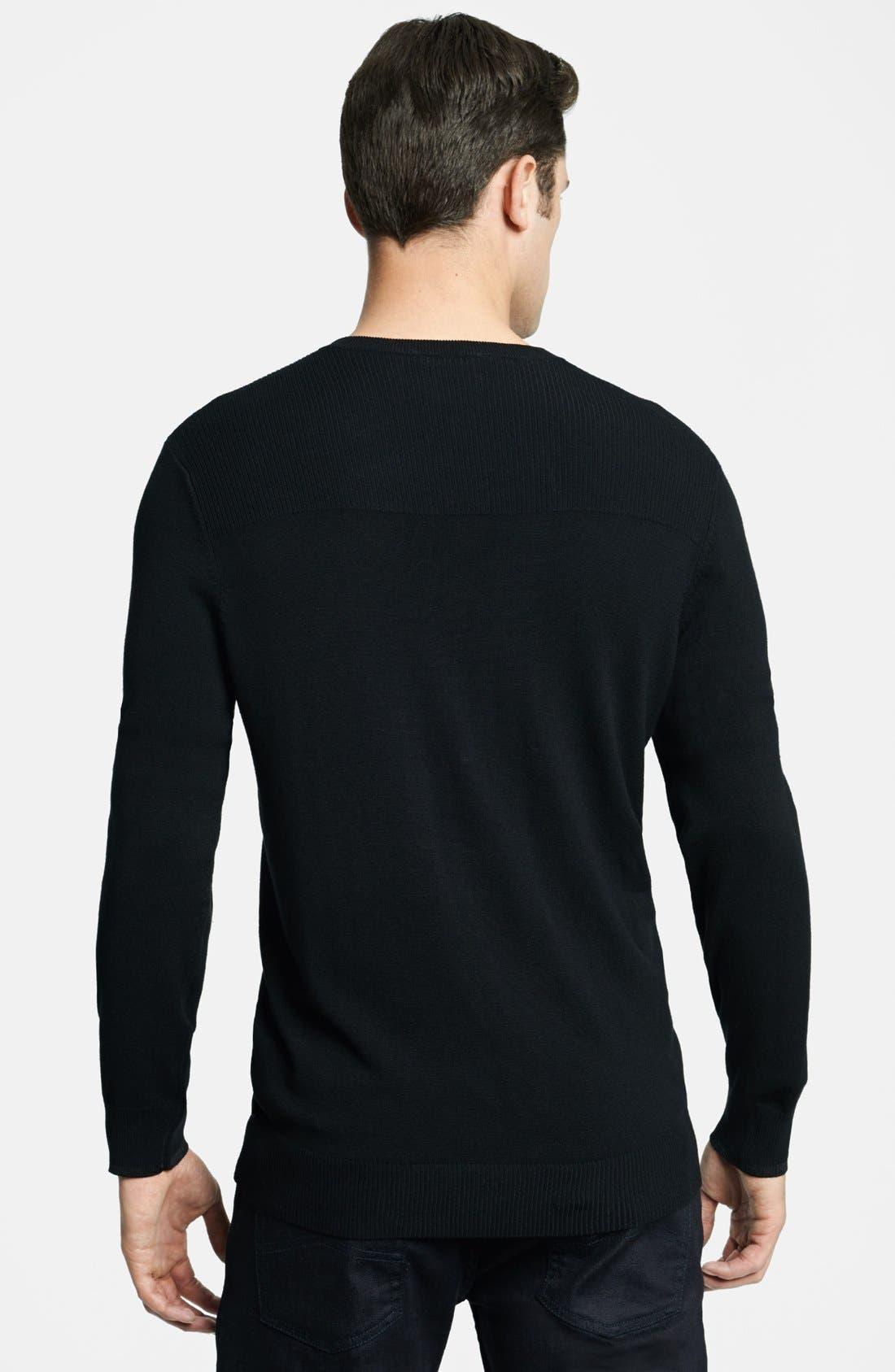 Alternate Image 2  - Armani Collezioni V-Neck Sweater