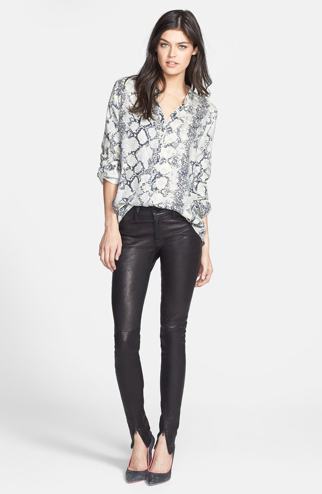 Alternate Image 1 Selected - Soft Joie Top & Hudson Jeans Pants