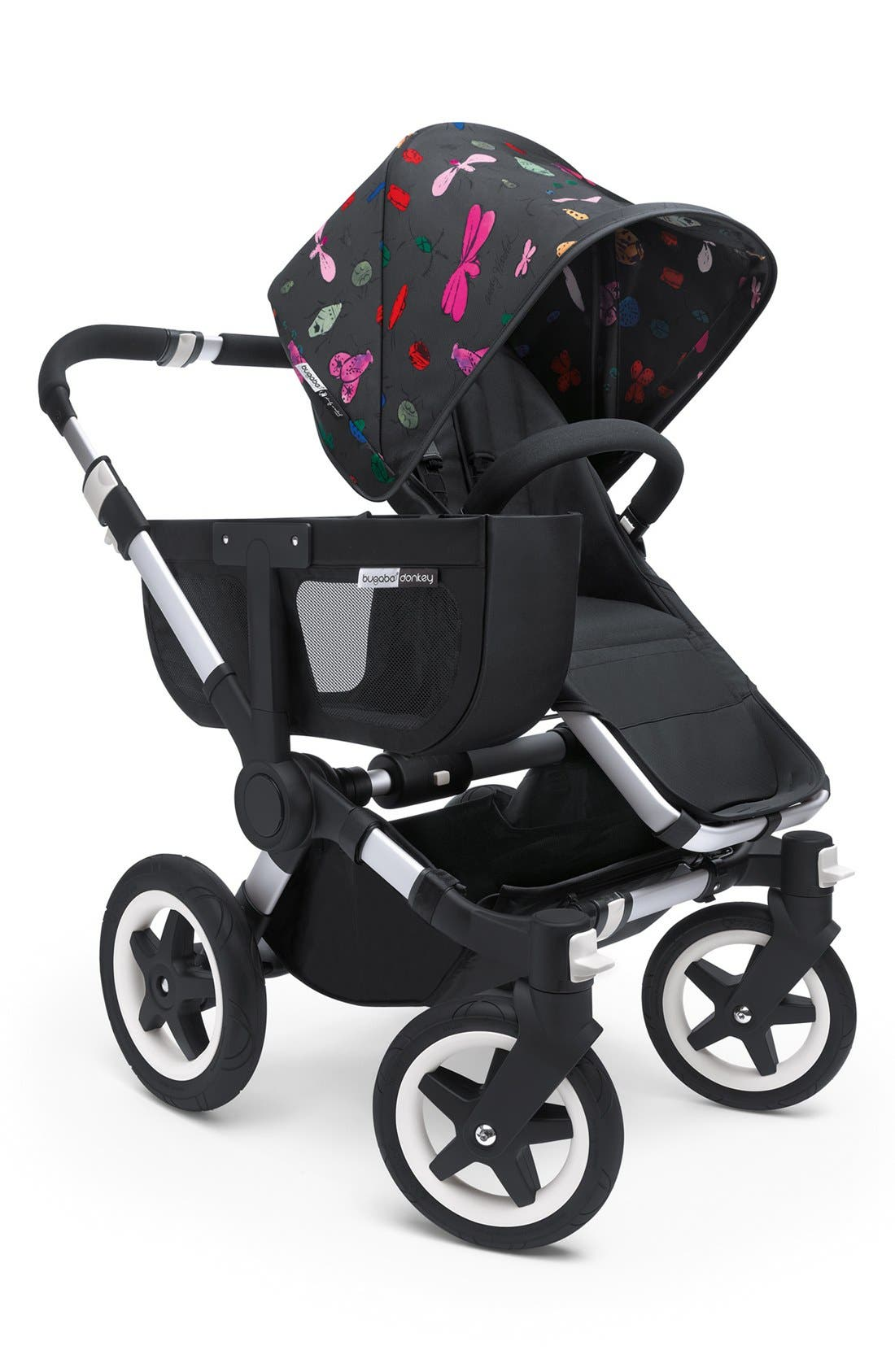Alternate Image 2  - Bugaboo 'Donkey - Happy Bug by Andy Warhol' Stroller Tailored Fabric Set