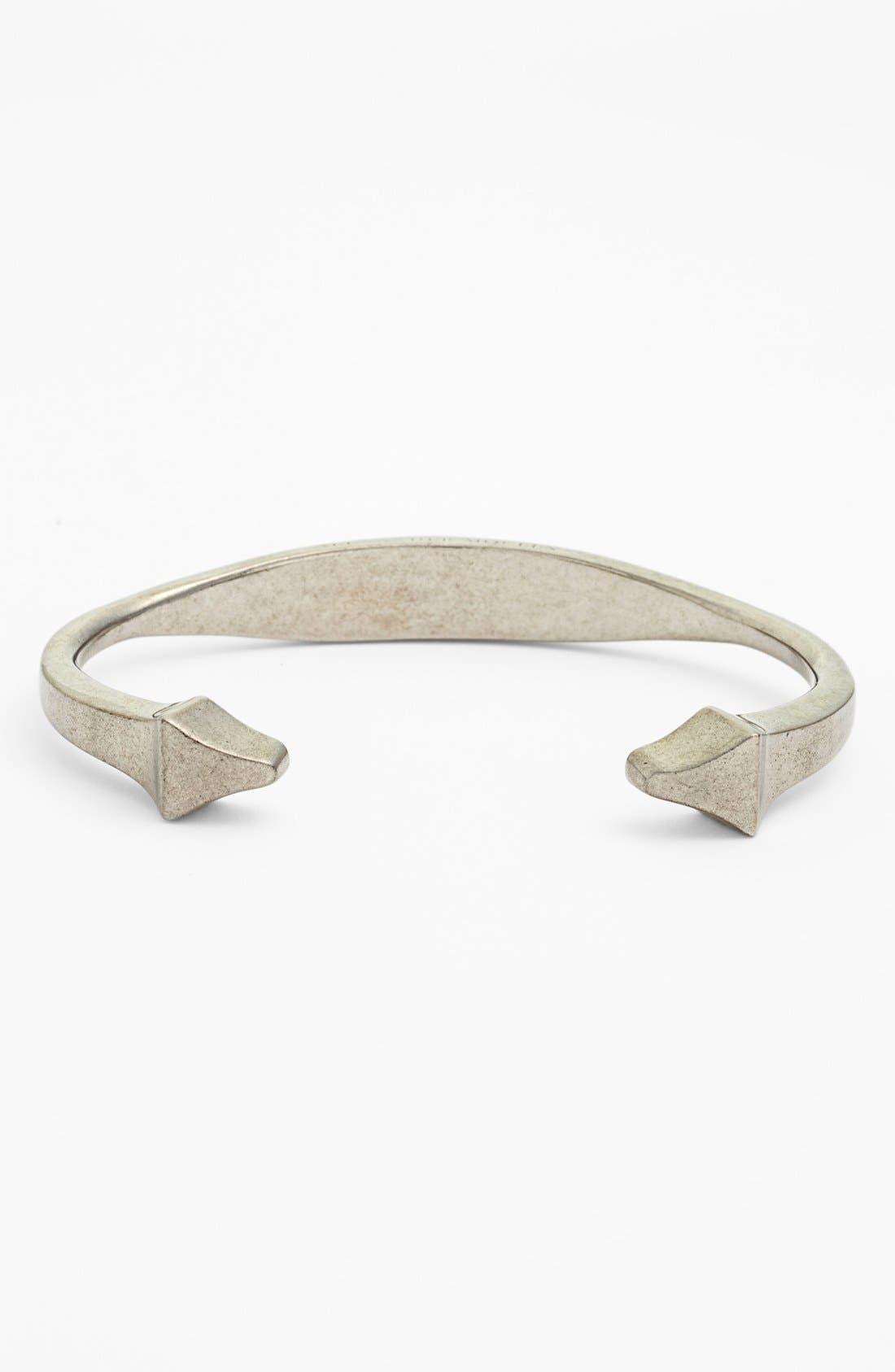Alternate Image 1 Selected - Alexander McQueen Anatomical Brass Bracelet