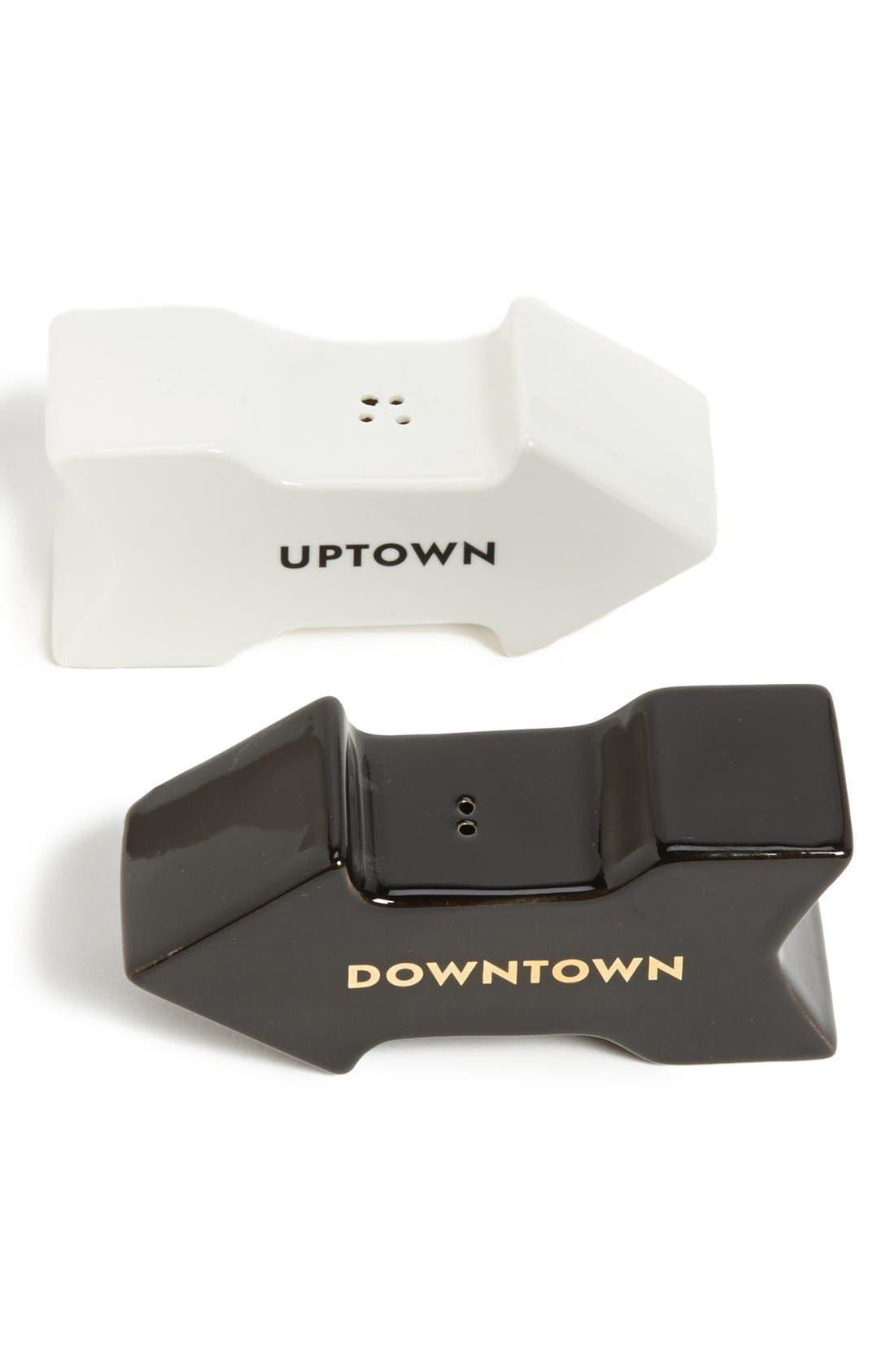 Main Image - kate spade new york 'fairmount park - uptown downtown' salt & pepper set