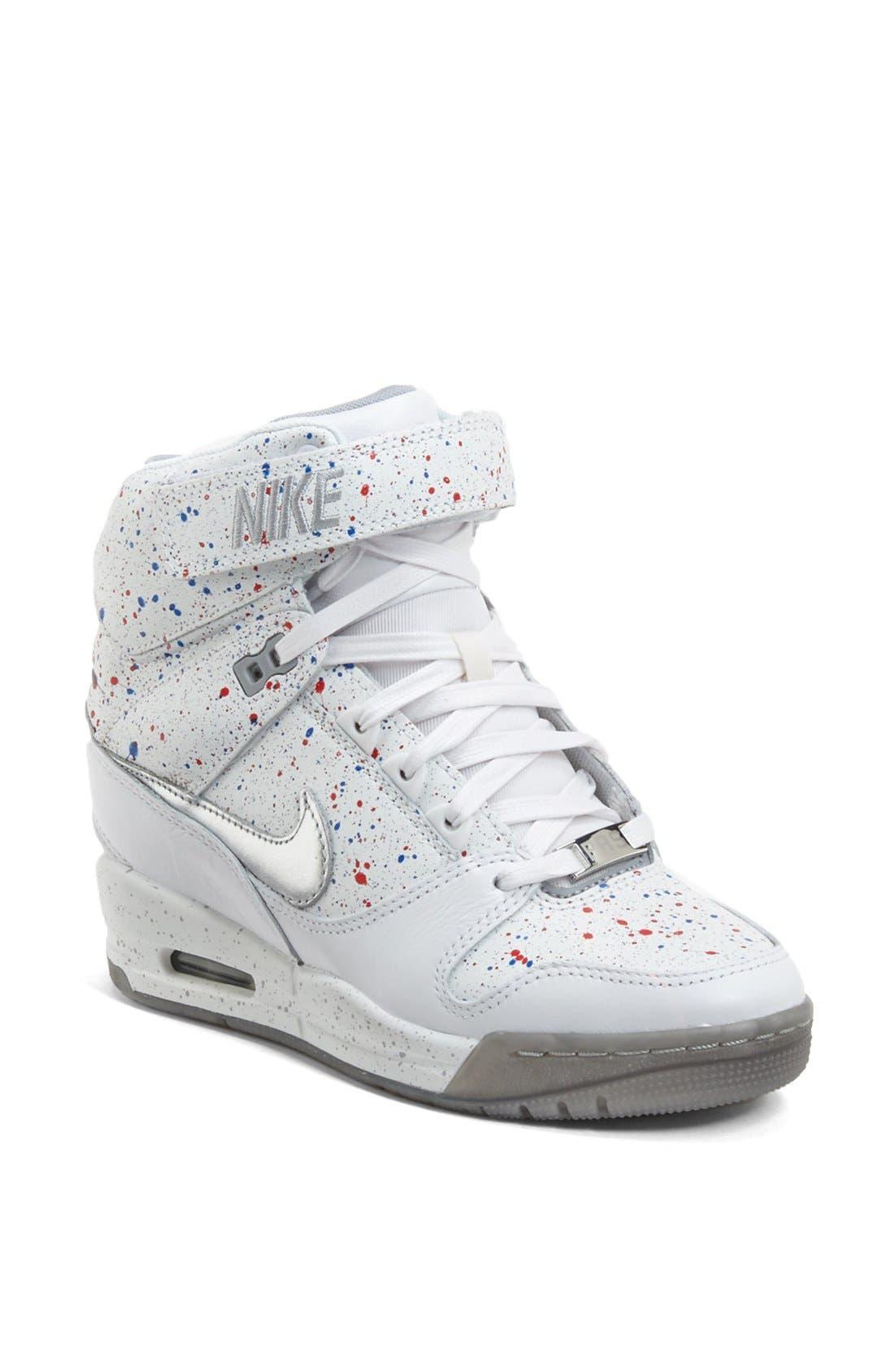 Alternate Image 1 Selected - Nike 'Air Revolution Sky Hi' Hidden Wedge Sneaker (Women)