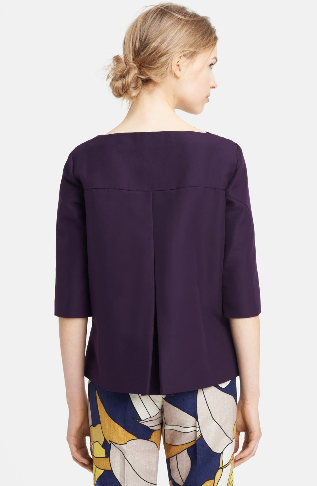 Alternate Image 2  - Marni Boatneck Cotton Top